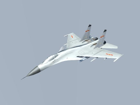 3d chinese fighter