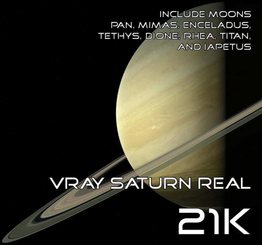 3d max saturn real 21k