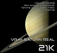 Vray Saturn Real 21K