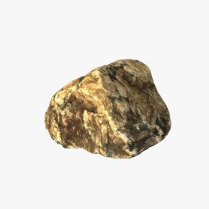 3d stone scanned pbr model