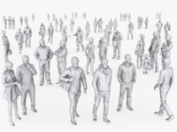 3d complete people pack