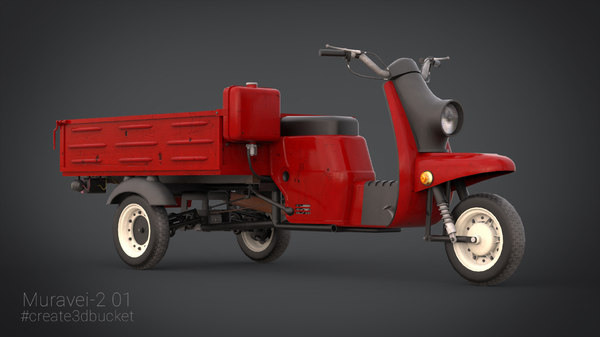 muravei soviet cargo 3d model