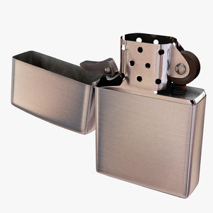 zippo lighter light 3d model