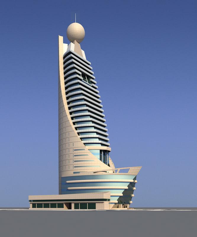 building telecommunication etisalat 3ds