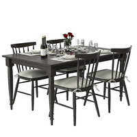Wolcott extention dining table set