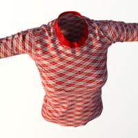 3d model realistic t-shirt