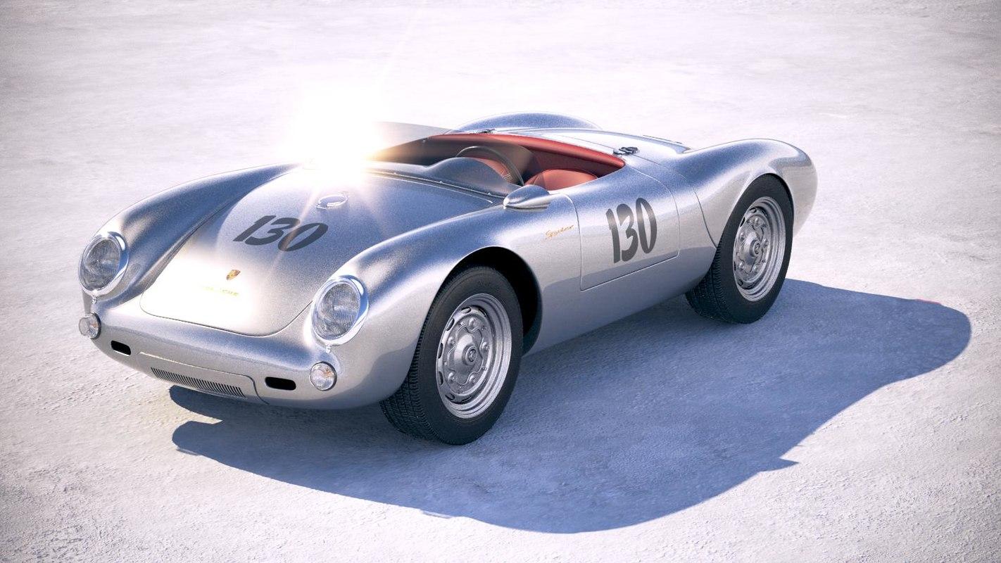 Porsche Spyder 550 >> Porsche Spyder 550 3d Max