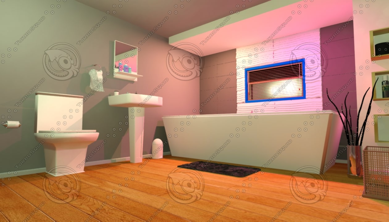 interior house 3d max