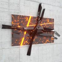 decorative wall sculpture 3d model