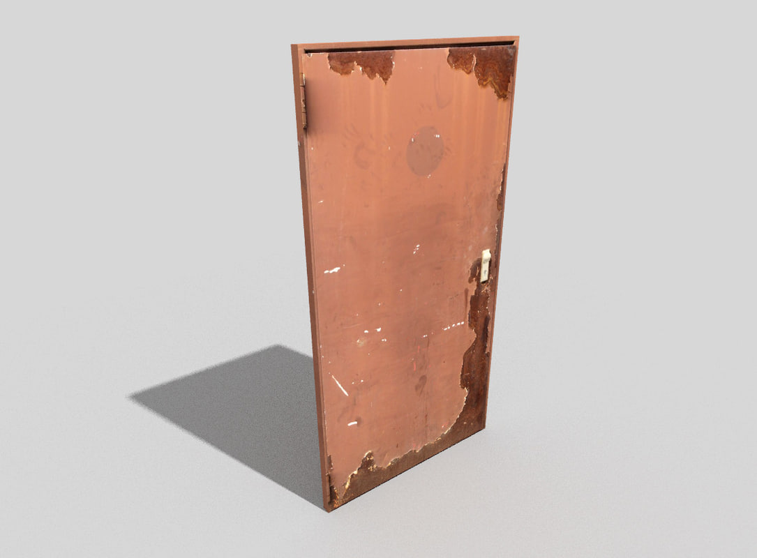 door games 3d model