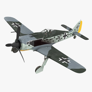 german wwii fighter aircraft 3d max