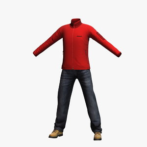 3d max mens clothing 16