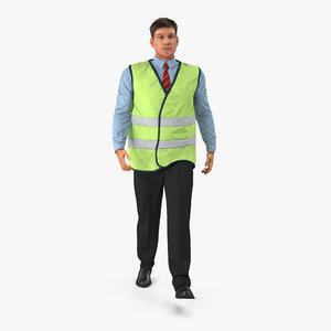 max port engineer walking pose