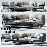 3d max ditre st germain sofa