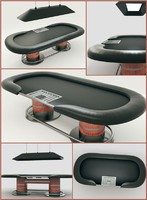 Poker Table 3D Model(1)