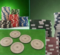 casino color chip 3d model