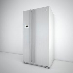 3d model lg fridge