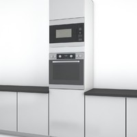 Miele microwave and oven