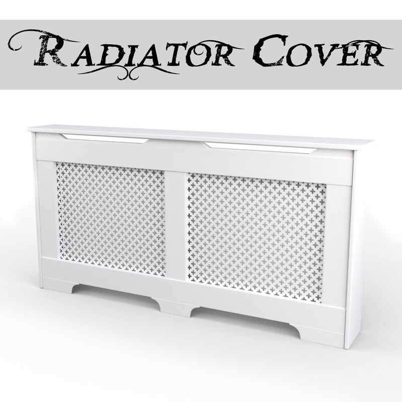 classic radiator cover 3d 3ds