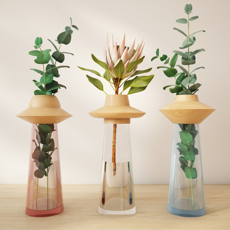 free max model ufological vase fajnodesign