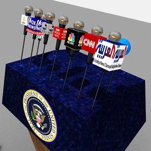 max presidential podium