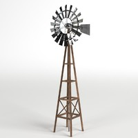 max windmill asset rendered