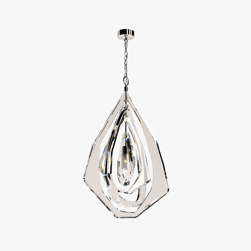 3d porta large gabo ceiling light