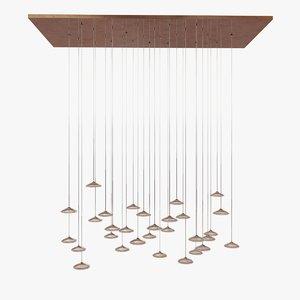 ceiling light artemide orsa 3d max