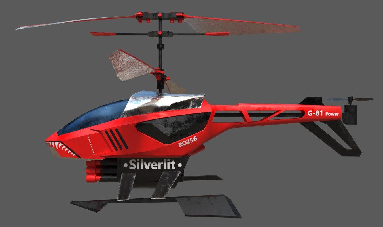 silverlit rc heli blaster 3ds