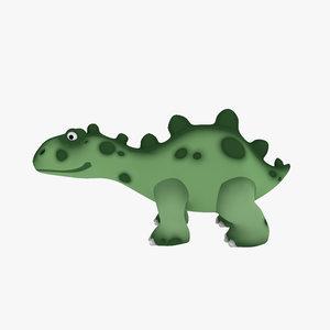 dino toy 3d model