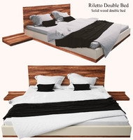 RILETTO Double bed