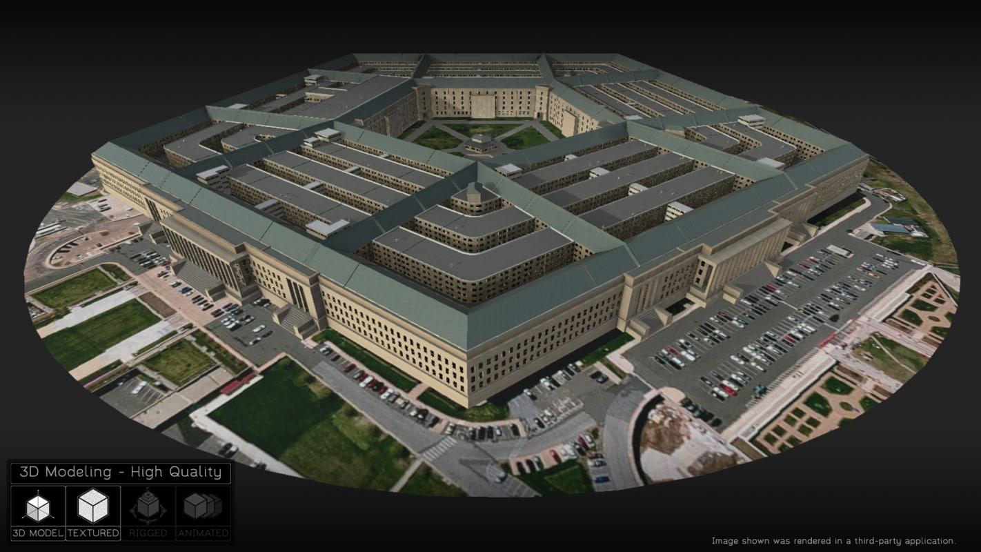 washington pentagon x