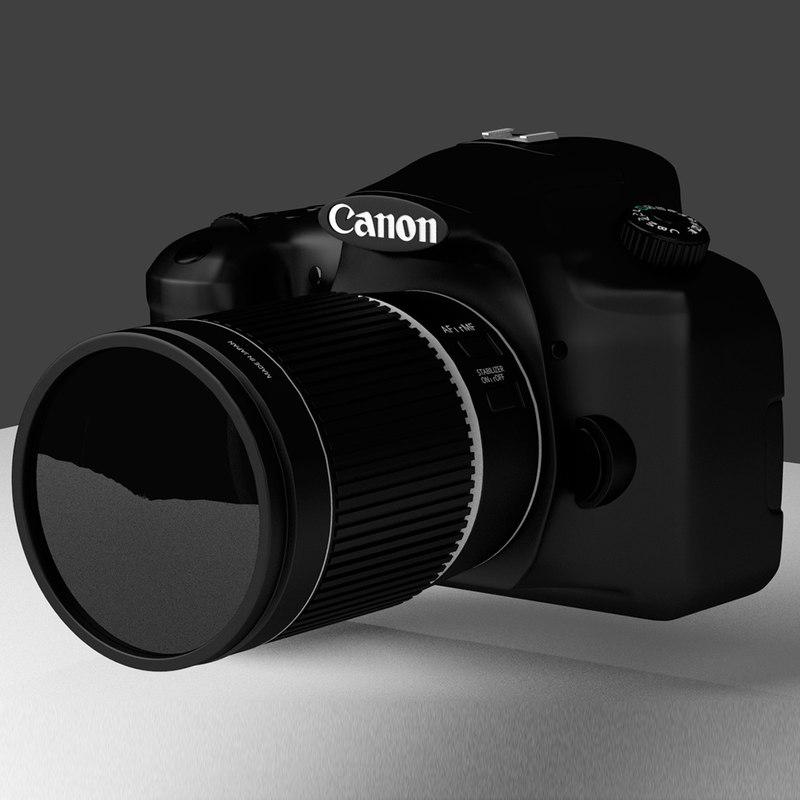 canon camera obj free