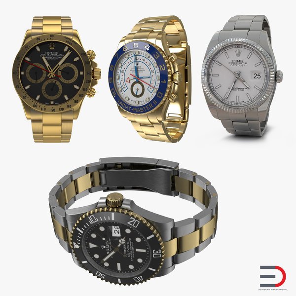 3ds rolex watches