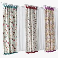 Modern Kid's Curtains