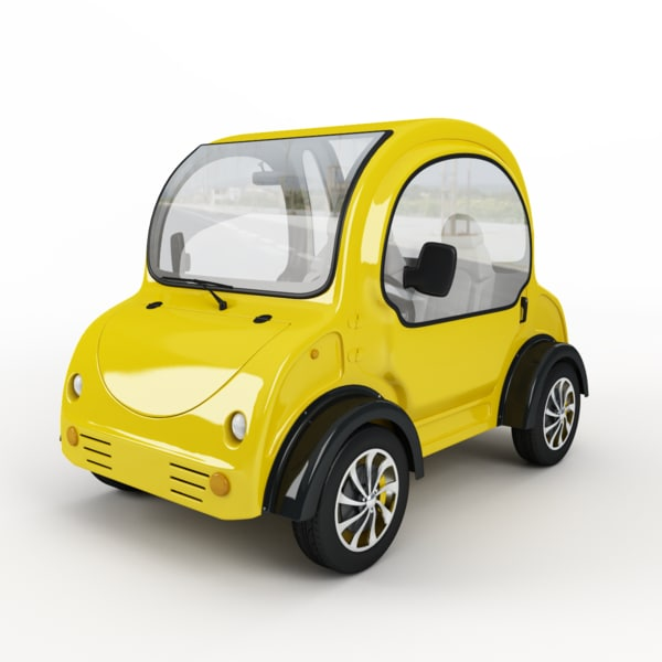 3d electric car mj-dlm04