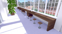lightmapped shc quick 3d model