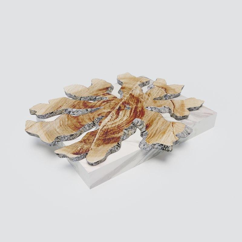 artefacto wood coffe table max