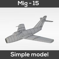 Mig - 15 Simple model