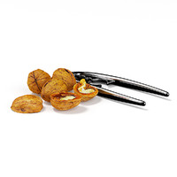 walnuts nutcracker 3d obj