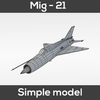 Mig - 21 Fishbed (simple model)