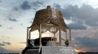 3d model elaborate asian pagoda fountain