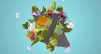 little town miniplanet x