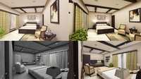 interior bed room max
