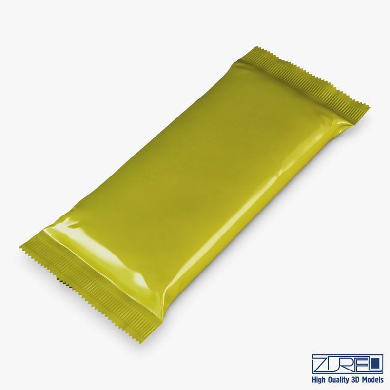 candy wrapper v 9 3d max