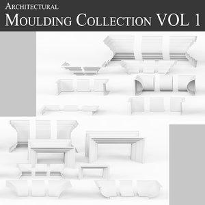 3d moulding architectural