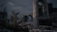 ancient ruins scenario building 3d model