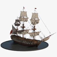 galleon realistic prop max