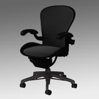3d chair herman miller