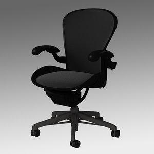 3d chair herman miller